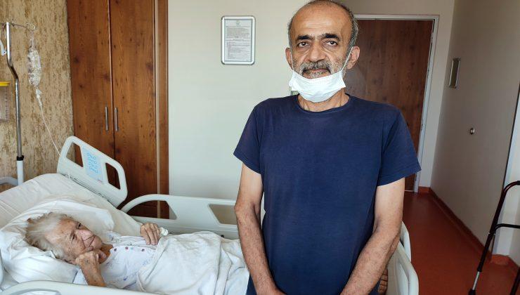 Kanser hastası Jozefin ninenin Erdoğan sevgisi
