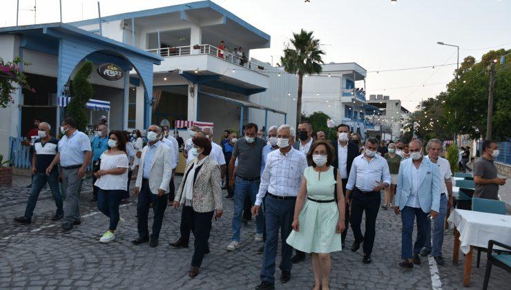 Arsuz'da Akdeniz Caddesi yaya trafiğine açıldı