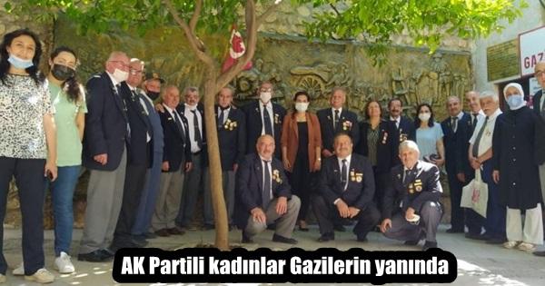 AK Partili kadınlar Gazilerin babalar gününü kutladı