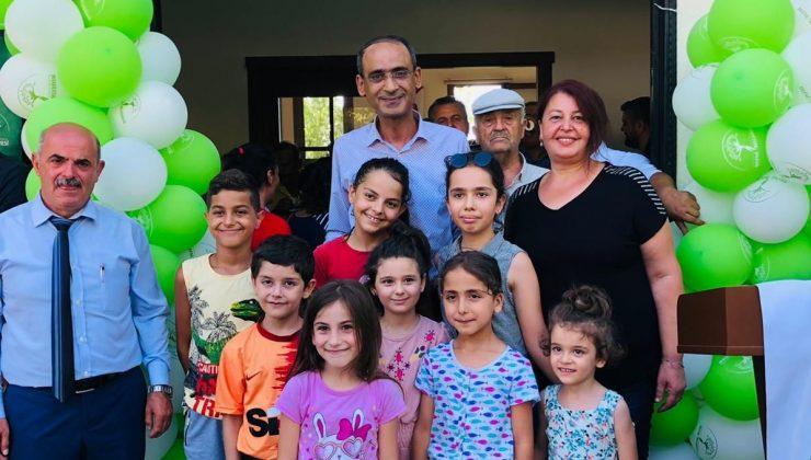 Dursunlu'ya Defne Evi açıldı