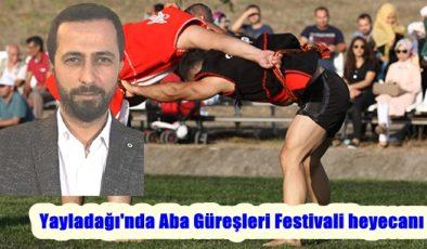 Yayladağı'nda Aba Güreşleri Festivali heyecanı