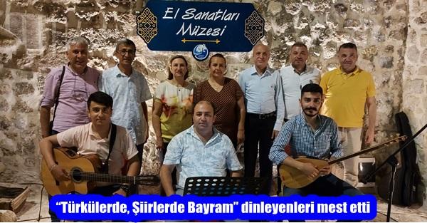 """""""Türkülerde, Şiirlerde Bayram"""" dinleyenleri mest etti"""