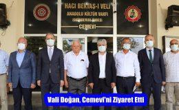 Vali Doğan, Cemevi'ni Ziyaret Etti