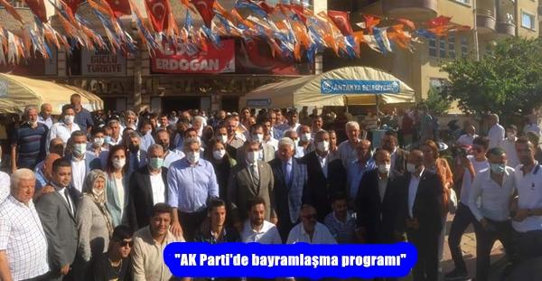 """""""AK Parti'de bayramlaşma programı"""""""