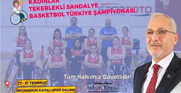 Türkiye Şampiyonası İskenderun'da
