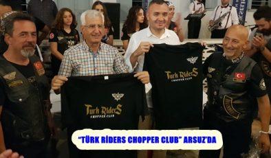 """""""Türk Riders Chopper Clup"""" Arsuz'da"""