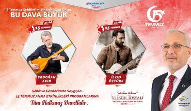 Başkan Tosyalı'dan 15 Temmuz programlarına davet