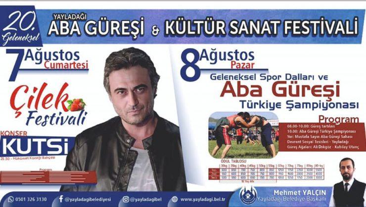 Yayladağı'nda Aba Güreşi Festivali düzenlenecek