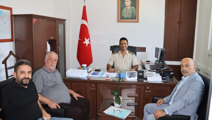 HGC'den Albay Başaran'a Ziyaret