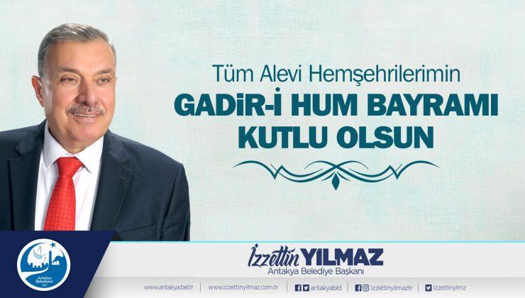 Başkan Yılmaz Gadir-İ Hum Bayramı'nı kutladı