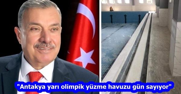 """""""Antakya yarı olimpik yüzme havuzu gün sayıyor"""""""