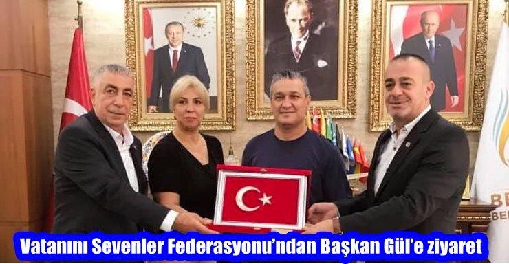 Vatanını Sevenler Federasyonu'ndan Başkan Gül'e ziyaret