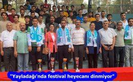 """""""Yayladağı'nda festival heyecanı dinmiyor"""""""