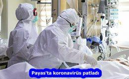 Payas'ta koronavirüs patladı