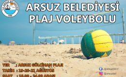 """Arsuz'da """"Plaj Sporları"""" start alıyor"""