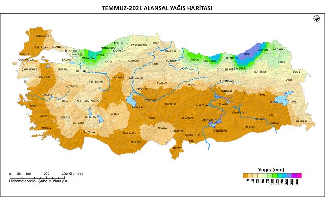 Hatay'da yağışlar %89 azaldı