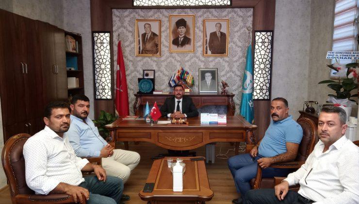 """""""Başkan Döner'e tebrik ziyaretleri devam ediyor"""""""