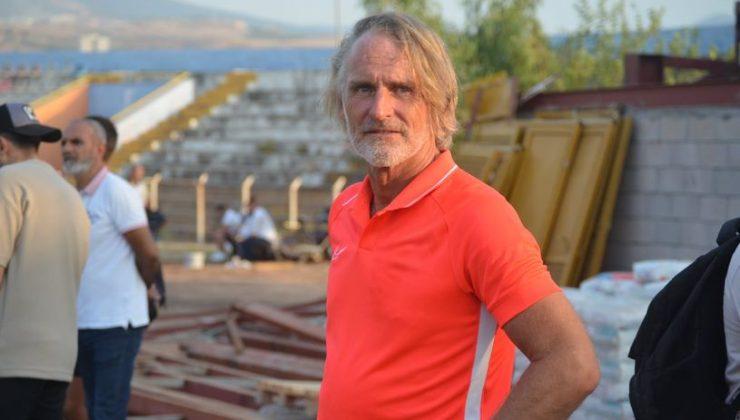 Riekerink İskenderunspor'la şampiyonluk hedefliyor