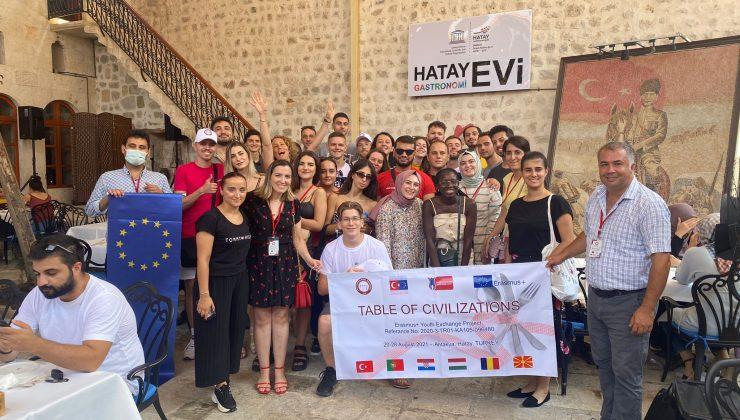 Medeniyetler Sofrası projesi gerçekleştirildi