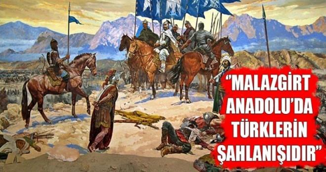 """Yavuz; """"Malazgirt Zaferi, gök kubbe altında Türklerin kıyamete kadar sürecek birlikteliğinin sembolüdür"""""""