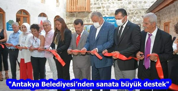 """""""Antakya Belediyesi'nden sanata büyük destek"""""""