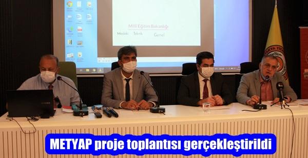 METYAP proje toplantısı gerçekleştirildi