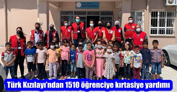 Türk Kızılayı'ndan 1510 öğrenciye kırtasiye yardımı