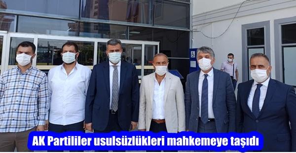 AK Partililer usulsüzlükleri mahkemeye taşıdı