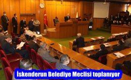 İskenderun Belediye Meclisi toplanıyor