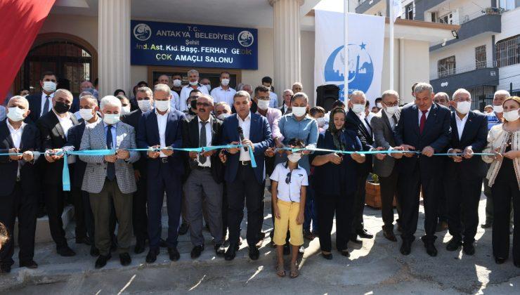 Şehit Jandarma Astsubay Kıdemli Başçavuş Ferhat Gedik Çok Amaçlı Salonu hizmete açıldı