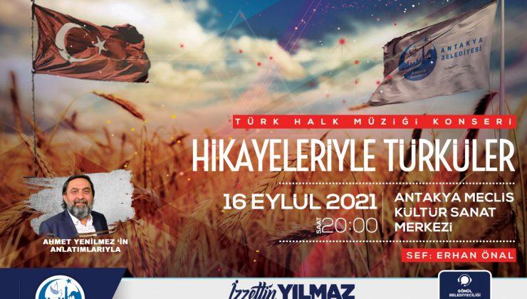 Antakya Belediyesi'nden ücretsiz halk konseri