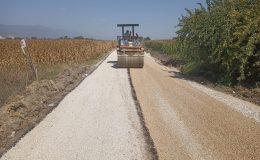 Başkan Yavuz asfalt çalışmalarına ara vermeden devam ediyor