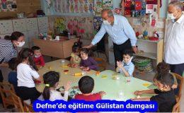 Defne'de eğitime Gülistan damgası