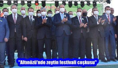 """""""Altınözü'nde zeytin festivali coşkusu"""""""