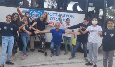 ATSO sponsor oldu, Motivasyon Otobüsü Hatay'da öğrencilerle buluştu
