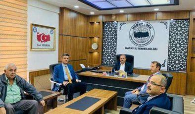 Mesut Çerko'dan Bayrakdar'a ziyaret
