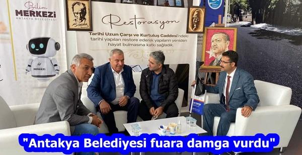 """Antakya Belediyesi fuara damga vurdu"""