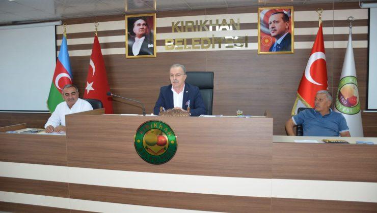 Kırıkhan Belediye Meclisi Ekim ayı olağan toplantısının 2. oturumu gerçekleştirdi