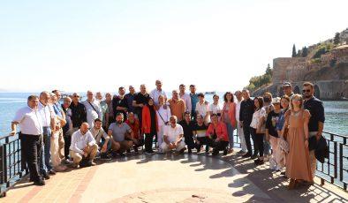 AGF başkan ve delegeleri Alanya'da toplandı