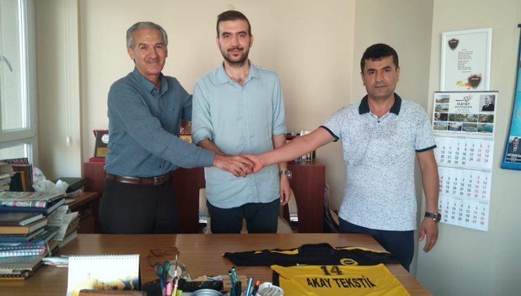 Kaan Temizlik Antakya Gençlik Antrenör Mehmet Davut ile anlaştı