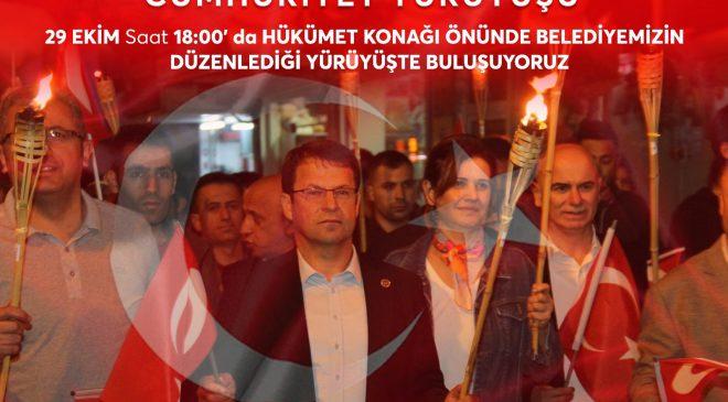 29 Ekim'de Samandağlılar Cumhuriyet için yürüyecek
