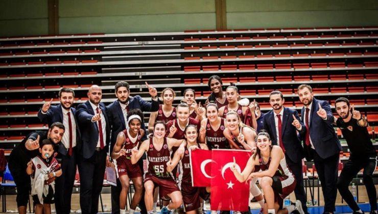 Hatayspor Kadın Basketbol EUROCUP'ta grup maçına çıkıyor..
